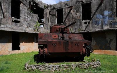 Tank in Palau