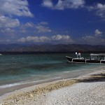 Beach at the Gili islands